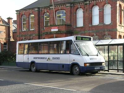 Northumbria Coaches R92HUA, Blyth, 26th January 2006
