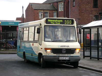 Arriva 2649 (X649WTN), Blyth, 26th January 2006