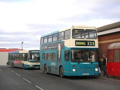 Arriva 7257 (N182OYH), Ashington, 26th January 2006
