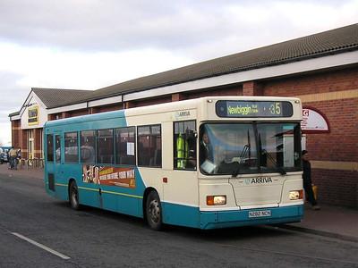Arriva 282 (N282NCN), Ashington, 26th January 2006