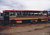 m/o 980 Leyland Worldmaster/Smithfield. (Rebody of ex MTT Adelaide) (Damaged by fire in depot on 5/2/83 and later scrapped) Photo taken at Northmead Depot in 1983. (Image from the Peter Reid Collection)