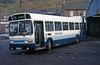 Brewers Leyland National B52F 769 (JTH 769P) at Caerau depot in April 1989.