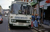Seen in Bridgend after transfer to Brewers is Leyland Leopard PSU3F/Willowbrook C49F 106 (LCY 106X).