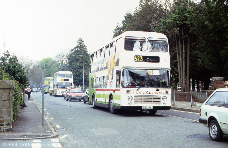 United Welsh 946 (XHK 234X) was a Bristol VRT new to Eastern National (3129) but ordered by Alder Valley.