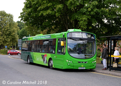 First 69459 (WX59BZN), Bromsgrove Bus Station, 31st July 2018