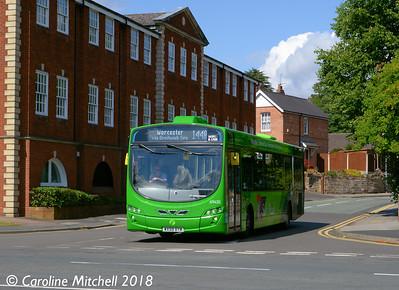 First 69435 (WX59BYM), Church Street, Bromsgrove, 31st July 2018