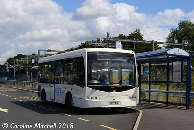 Kev's KX57FML, Bromsgrove Station, 31st July 2018