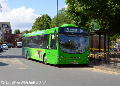 First 69451 (WX59BZE), Bromsgrove Bus Station, 31st July 2018