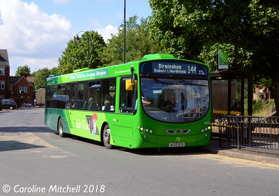 First 69454 (WX59BZH), Bromsgrove Bus Station, 31st July 2018