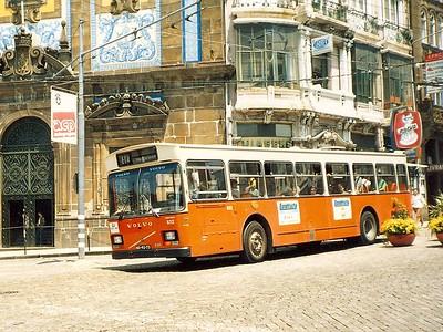 STCP 832, Praca de Almeida Garrett, Porto, June 1986
