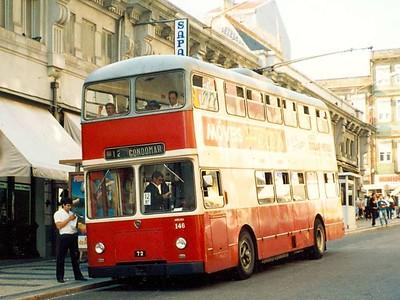 STCP 146, Rua de Alexandre Braga, Porto, June 1986