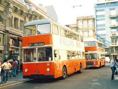 STCP 140, Rua de Alexandre Braga, Porto, June 1986