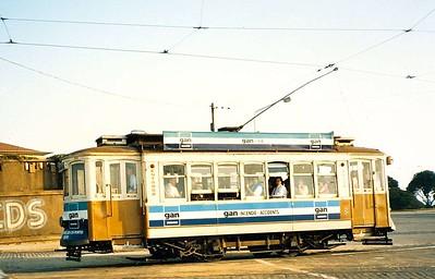 STCP 160, Avenida do Boavista, Porto, June 1986