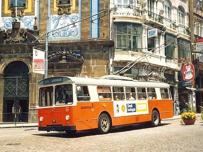 STCP 27, Porto, June 1986