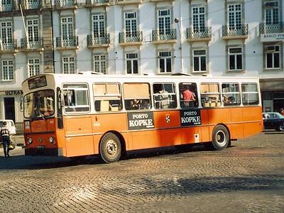 STCP 502, Praca da LIberdade, Porto, June 1986