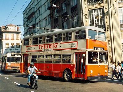 STCP 143, Bolhao, Porto, June 1986
