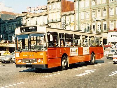 STCP 857, Porto, June 1986