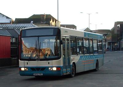 Arriva 3940 (GK52YVE), Guildford, 2nd January 2010