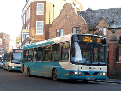 Arriva 3970 (YJ06LFZ), North Street, Guildford, 2nd January 2010