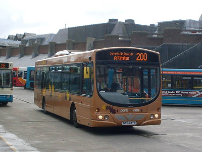 Arriva 3730 (GN54MYR), Guildford, 14th August 2010