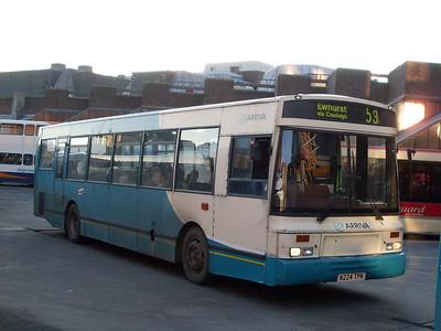 Arriva 3024 (N224TPK), Guildford, 2nd January 2010