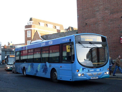 Arriva 3732 (GN54MYP), Guildford, 2nd January 2010