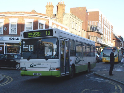 Countryliner DP10 (W21JNF), North Street, Guildford, 2nd January 2010