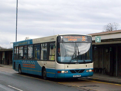 Arriva 3942 (GK52YVG), Woking, 27th March 2010