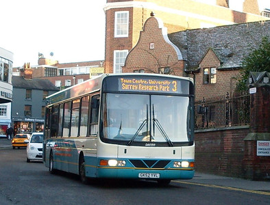 Arriva 3944 (GK52YVL), North Street, Guildford, 2nd January 2010