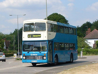 Arriva 5925 (M925PKN), Peasmarsh, 25th June 2010