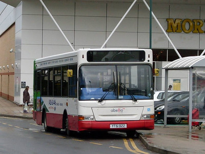 Abellio 8096 (YT51DZZ), Morrisons, Woking, 27th March 2010