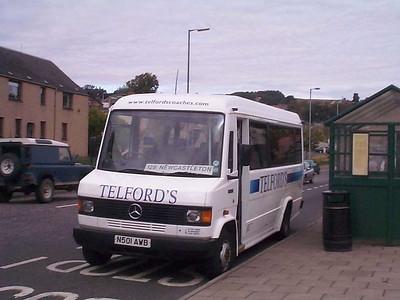 Telford's N501AWB, Hawick, 13th September 2003