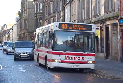 Munro's 469 (SK51AYD), Hawick, 28th January 2012