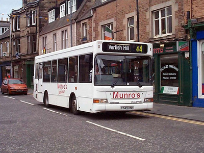 Munro's T549HNH, Hawick, 11th September 2004