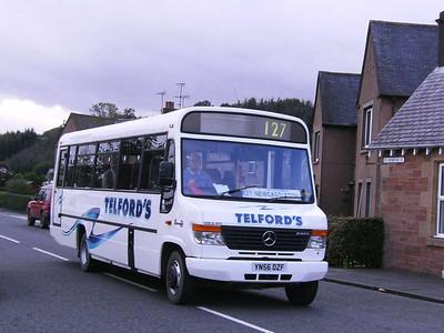 Telford's YN56DZF, Newcastleton, 7th October 2006