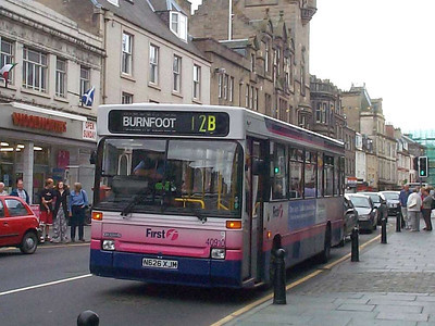 First 40910 (N626XJM), Hawick, 13th September 2003
