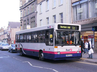 First 40909 (N624XJM), Hawick, 20th October 2007