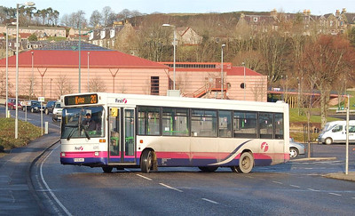 First 40915 (P206NSC), Hawick, 28th January 2012