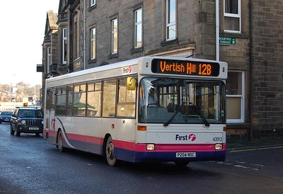 First 40913 (P204NSC), Hawick, 28th January 2012
