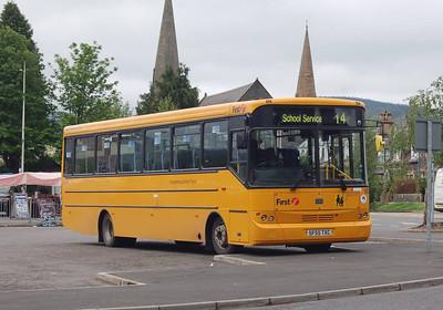 First 68566 (SF55TXC), Peebles, 7th June 2012