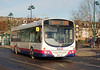 First 65746 (SN55JVL), Hawick, 28th January 2012