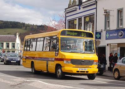 Scottish Borders SF06 ODS, Peebles, 27th April 2012