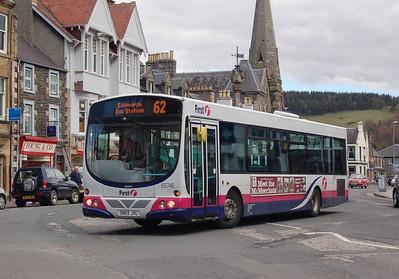 First 65746 (SN55JVL), Peebles, 27th April 2012