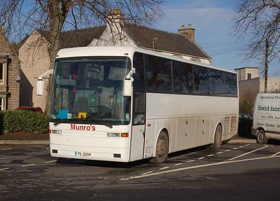 Munro's YIL3204, Hawick, 28th January 2012