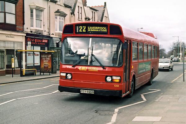 1098 PEV695R, Blundellsands 6/2/1998