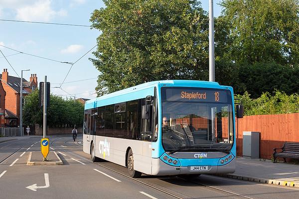 1001 J44CTN, Beeston 3/7/2019