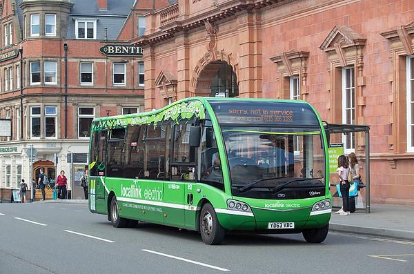 952 YD63VBC, Nottingham 3/7/2019