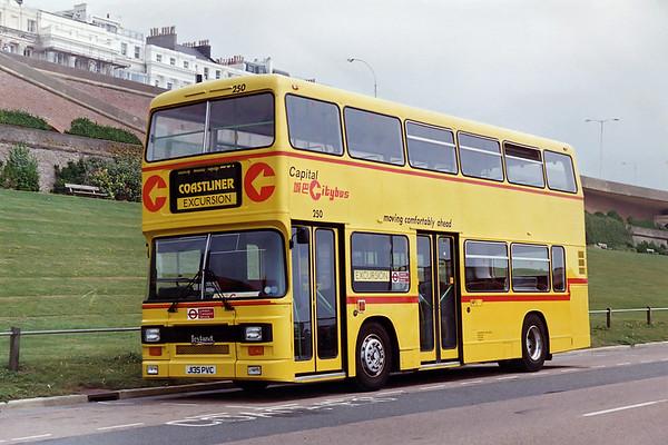 250 J135PVC, Brighton 9/8/1992