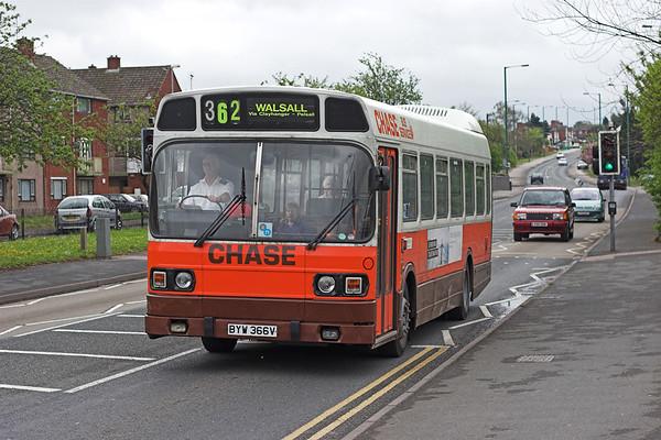 62 BYW366V, Brownhills 24/4/2007