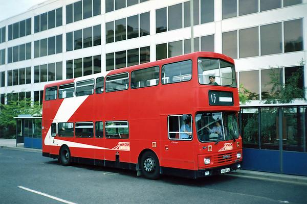 105 G105AAD, Swindon 7/7/1991